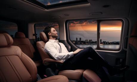 Hyundai STARIA - Relaxsitze